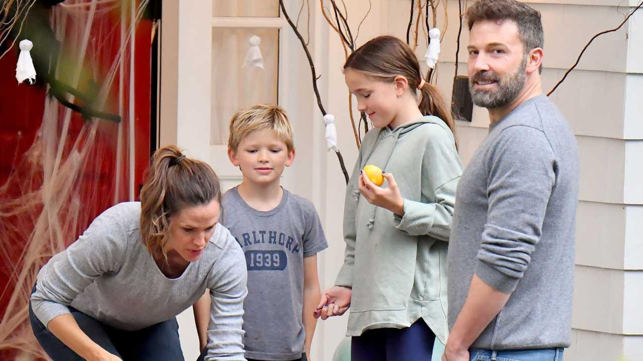 Ben Affleck famiglia