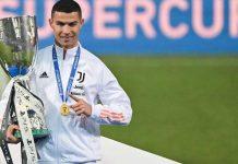 Cristiano Ronaldo Supercoppa Italiana