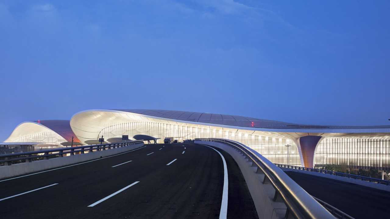 Daxing International Airport di Pechino