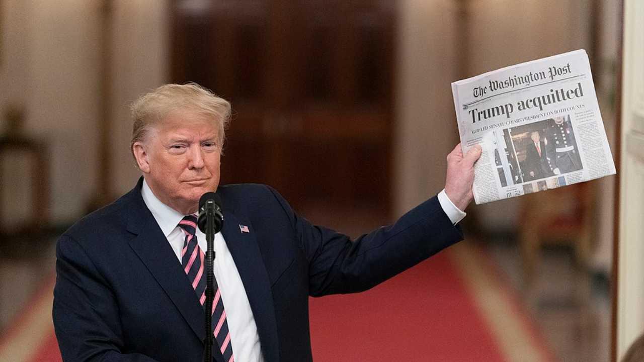Donald Trump assolto in Senato