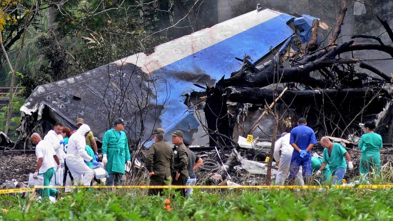 Elicottero caduto Cuba