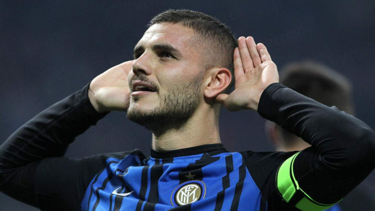 """Icardi, nuovo sgarbo all'Inter. Anticipa la sua ex squadra e le """"ruba"""" il logo"""