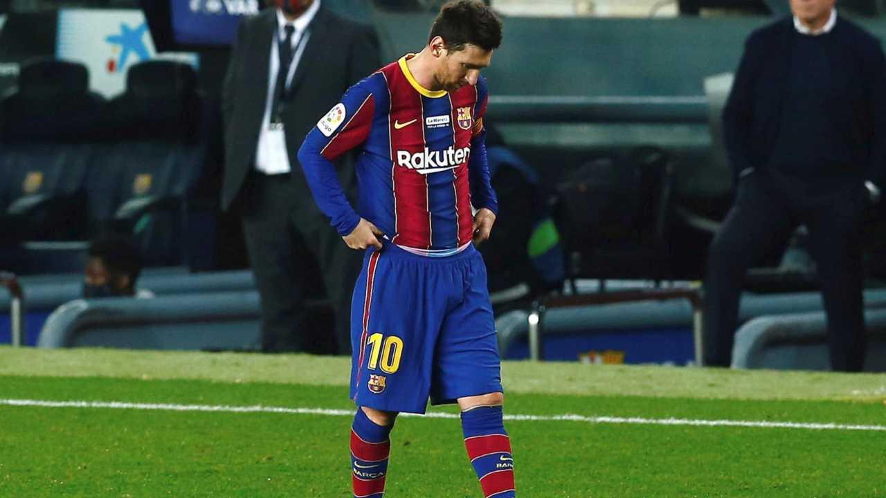 Messi a testa bassa