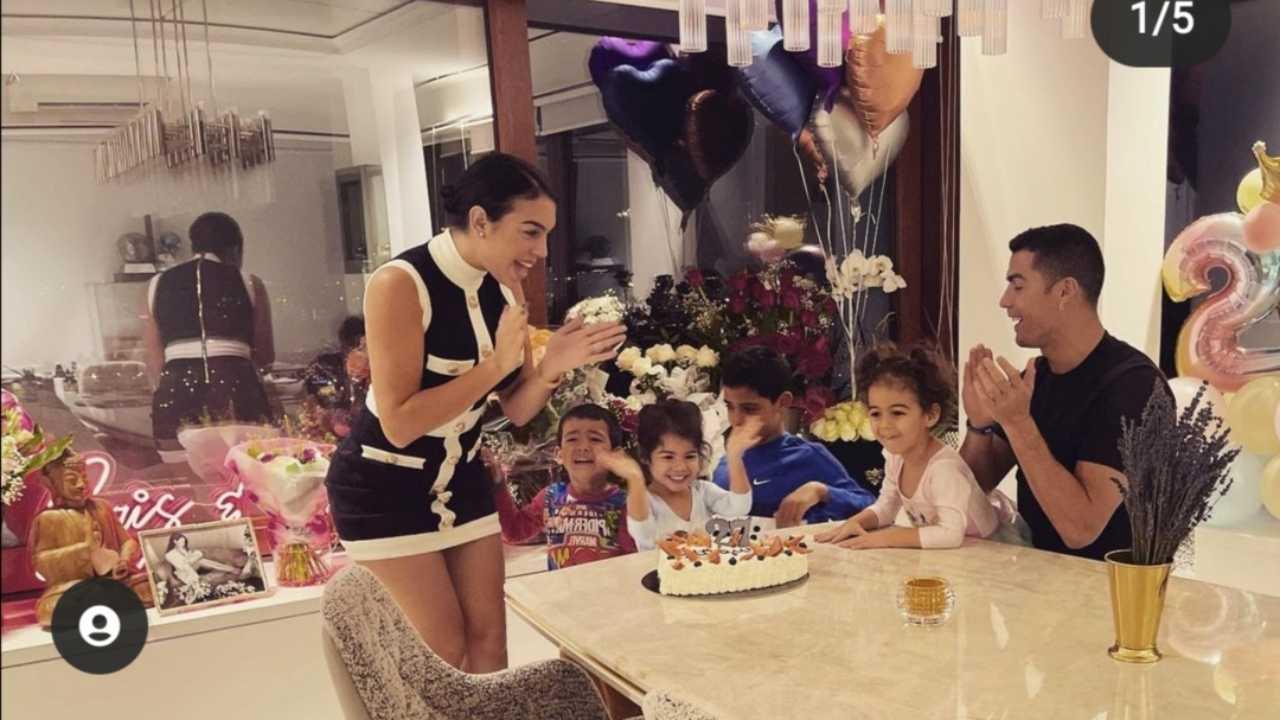 Georgina Ronaldo compleanno