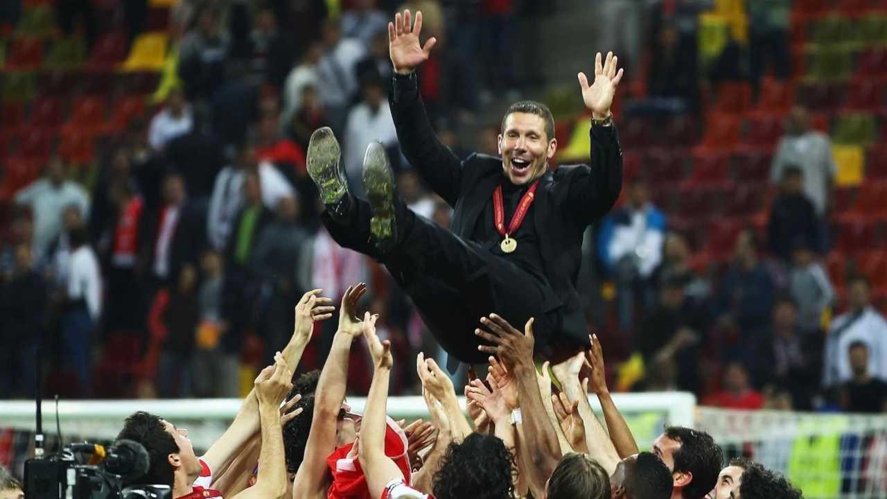 Simeone vittoria Coppa