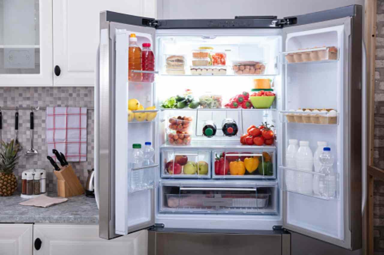 Cibo in frigorifero