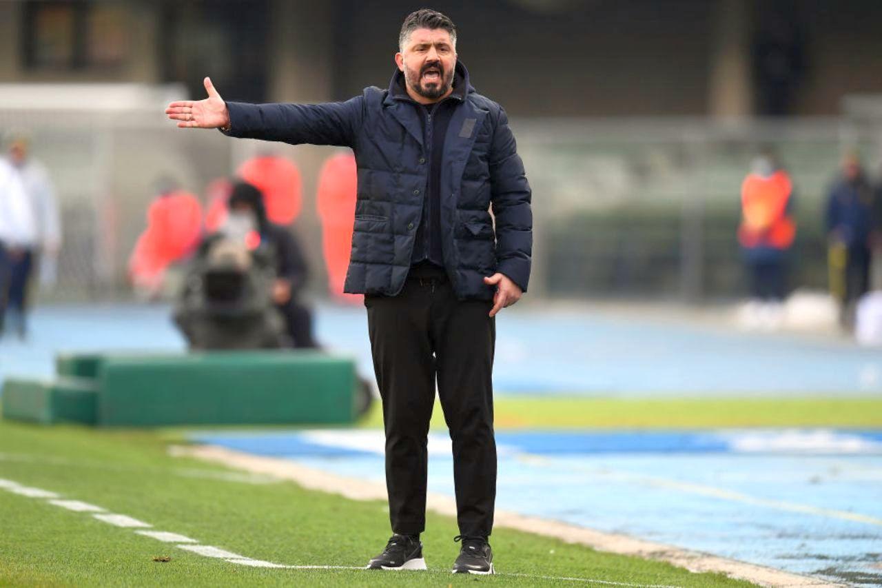 Ribaltone Napoli: Gattuso rischia l'esonero. Il possibile successore