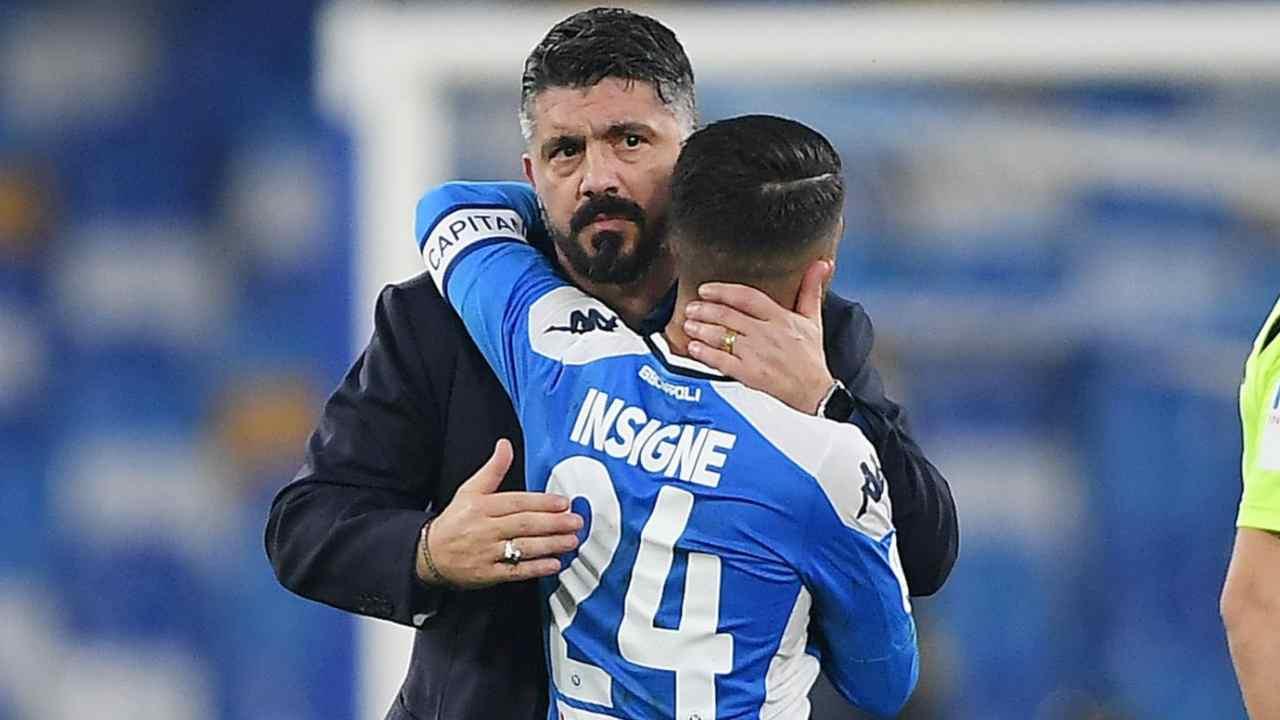 Gattuso col giocatore