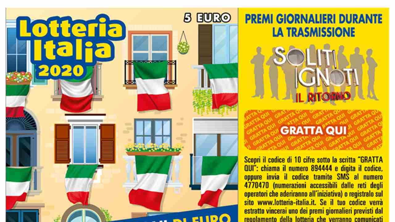 Biglietto Lotteria Italia