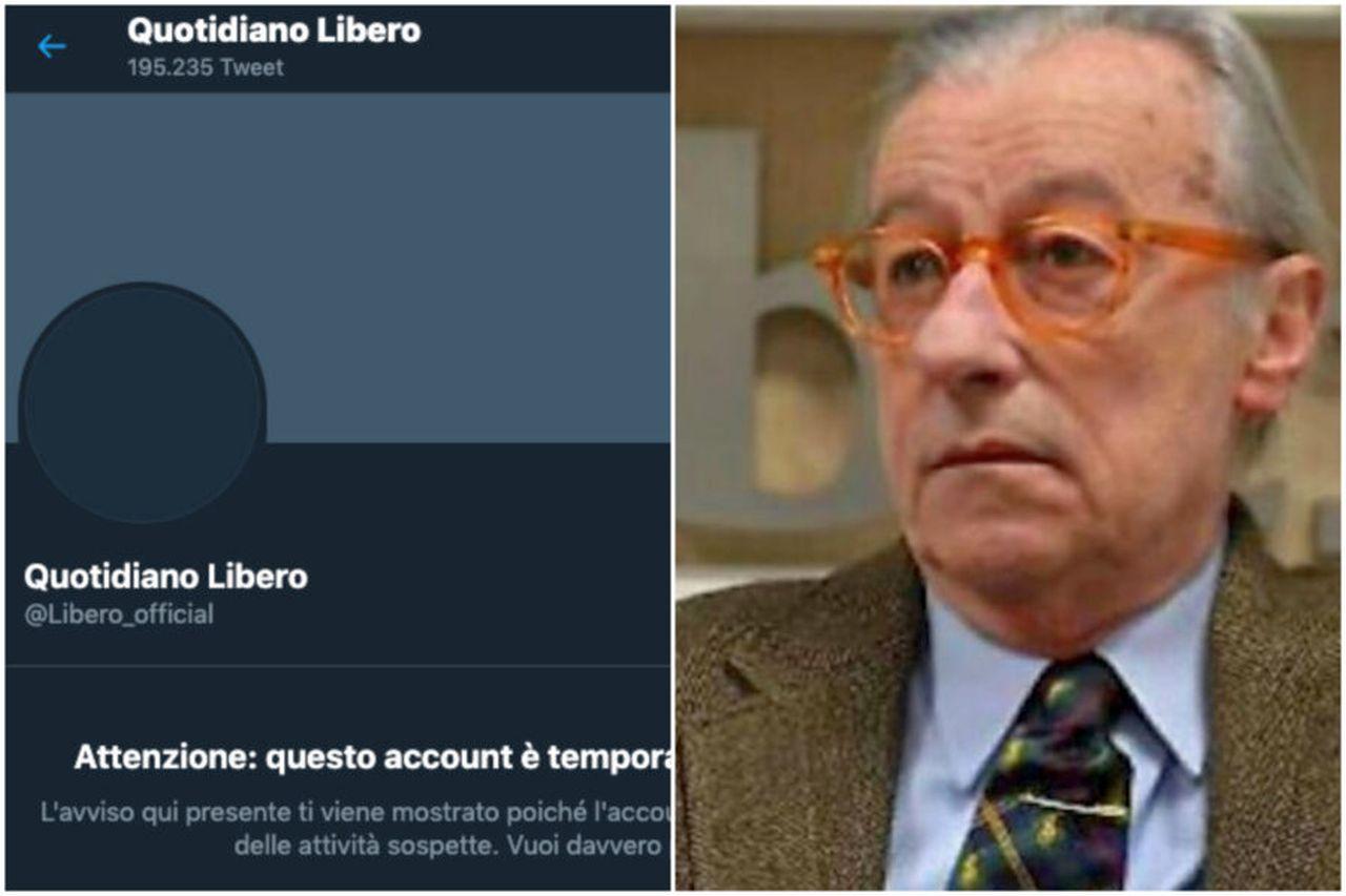 Il direttore editoriale di Libero, Vittorio Feltri