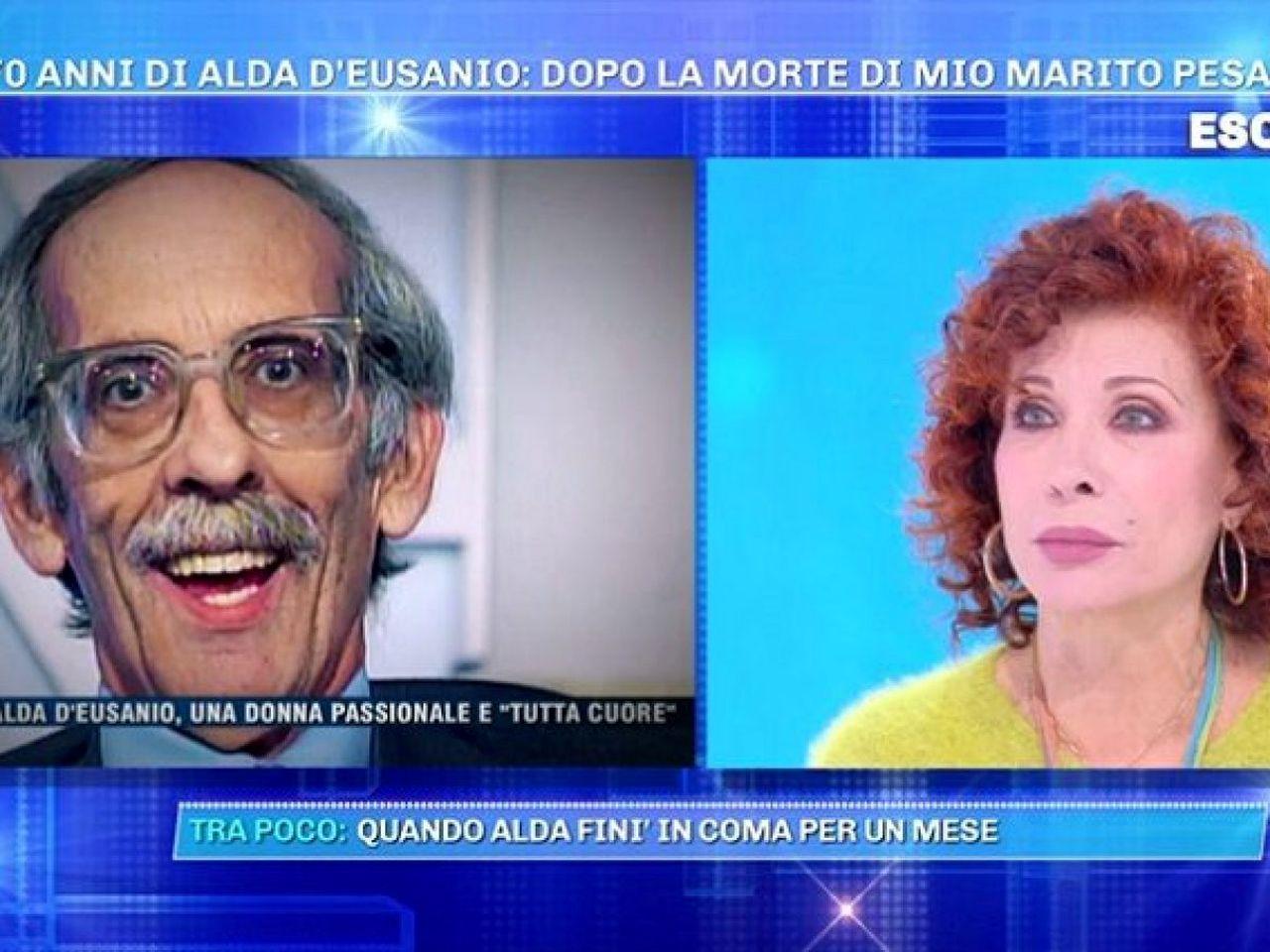 Alda D'Eusanio al GF Vip e la tragica morte del marito Giorgio
