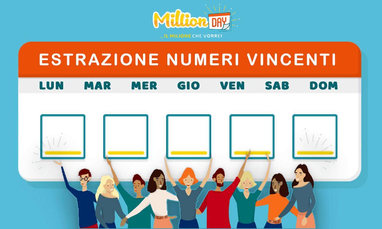 Million Day oggi: estrazione del 1 gennaio 2021, numeri e premi
