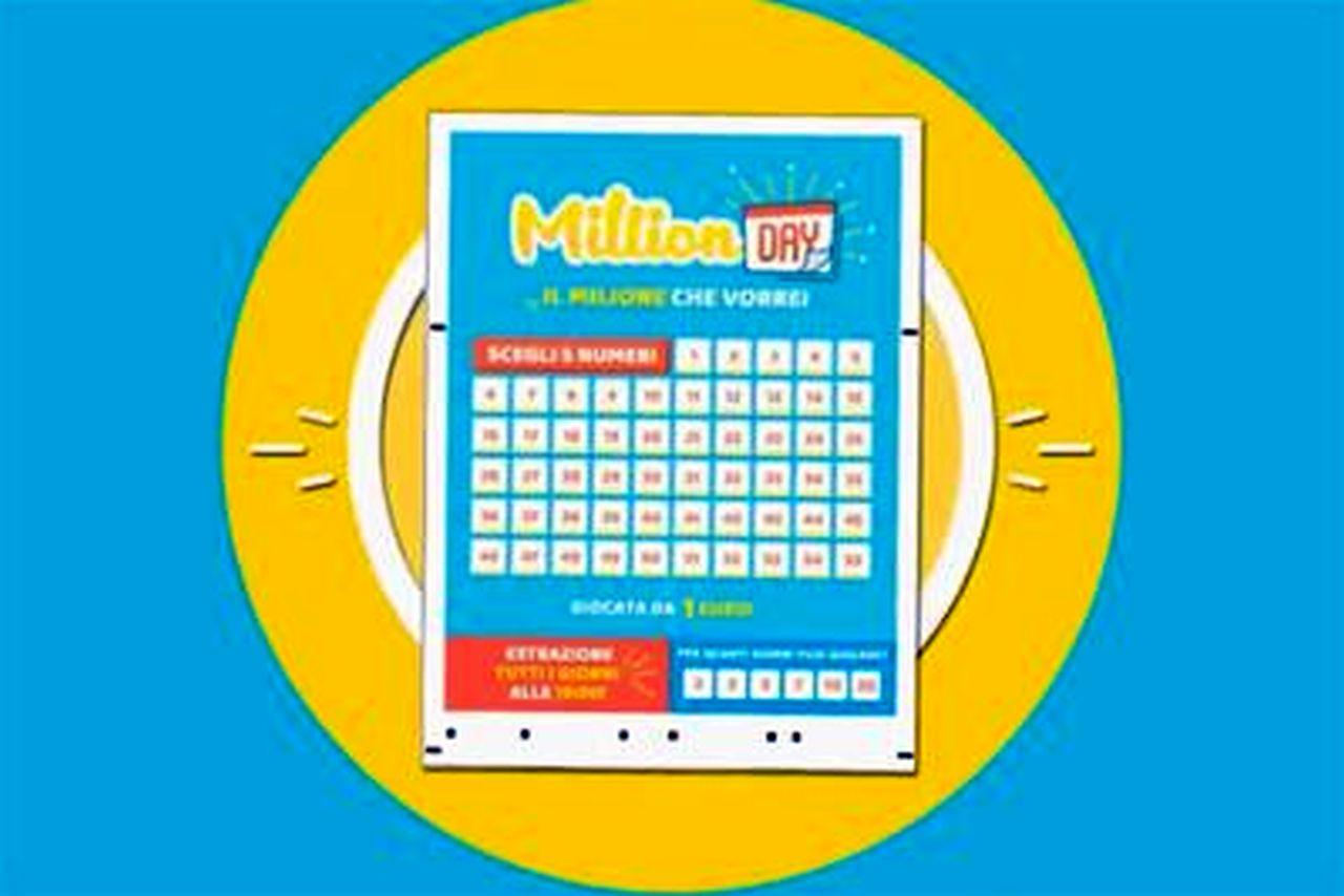 Million Day oggi: estrazione del 3 gennaio 2021, numeri e premi