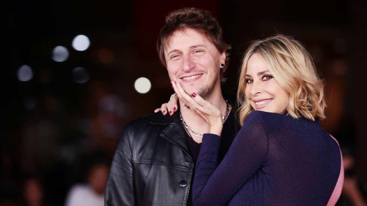 Con il marito Simone Gianlorenzi