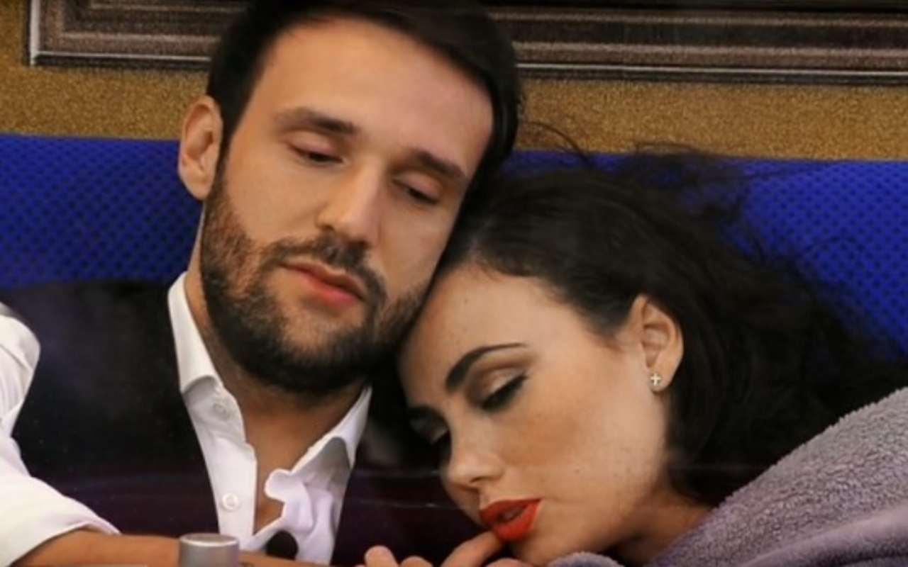Andrea Zenga e Rosalinda Cannavo