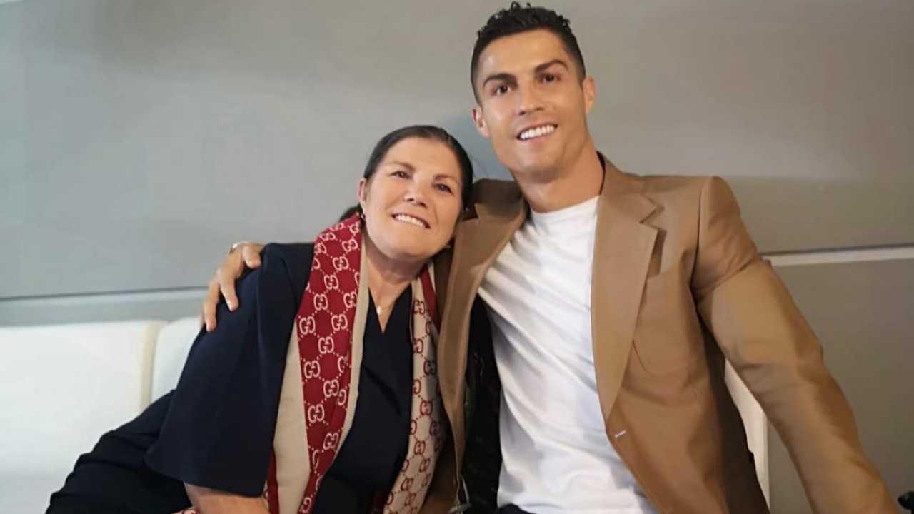 Cristiano Ronaldo e la madre