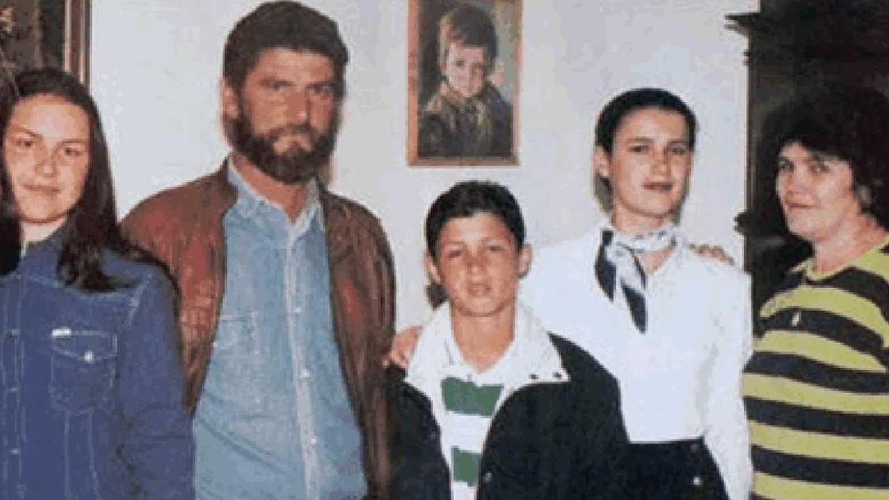 La famiglia di Cristiano Ronaldo