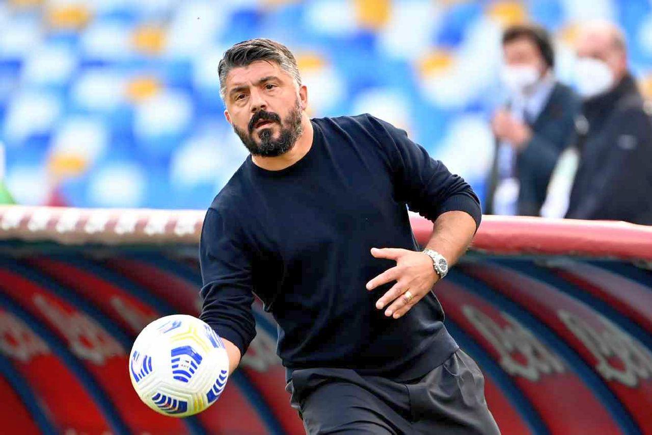 Polveriera Napoli: per i tifosi l'unica soluzione è l'esonero di Gattuso