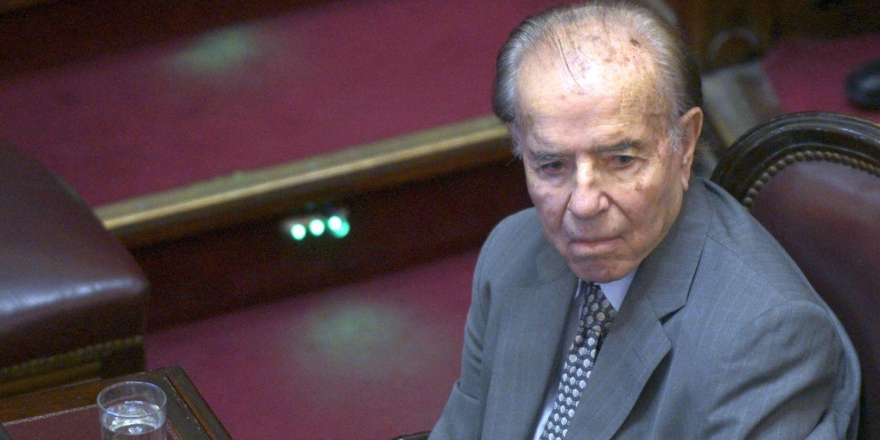 Argentina, è morto l'ex presidente Carlos Menem