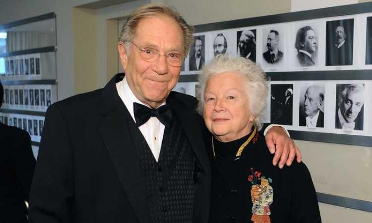 George Segal e Sonia Schultz Greenbaum