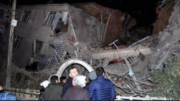Terremoto Béjaïa (Algeria) danni