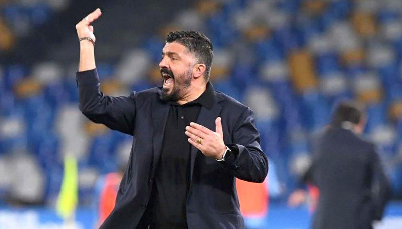 Napoli, Gattuso ancora sotto esame: De Laurentiis pensa ancora a Sarri