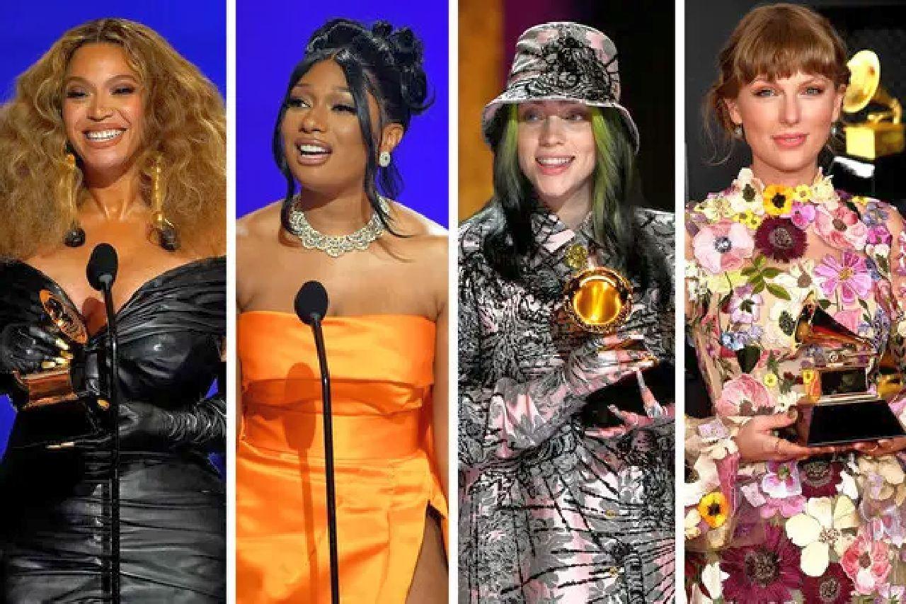 Grammy Awards 2021 tutti i vincitori: trionfano Taylor Swift e Beyoncé