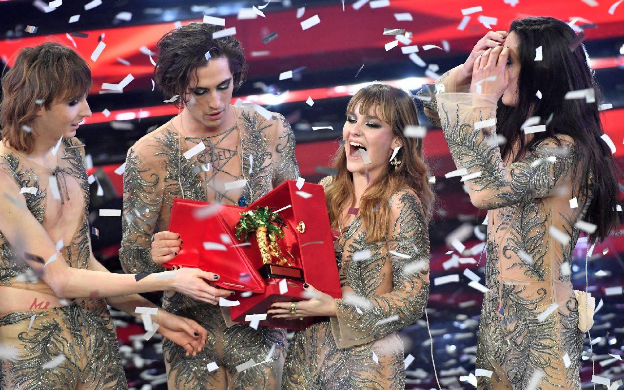 Sanremo 2021, i Maneskin e non solo: tutti i gruppi che hanno trionfato al Festival