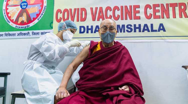 Dalai Lama vaccino
