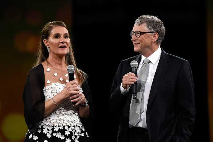 Bill Gates e sua moglie Melinda