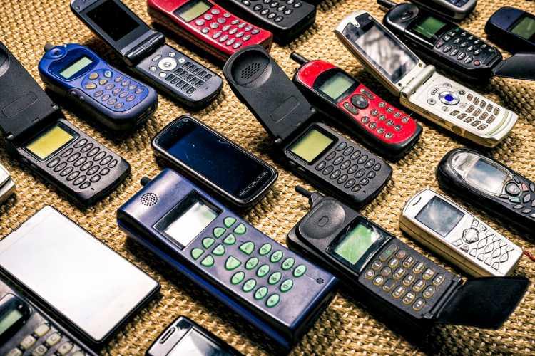 Cellulare di vecchia generazione