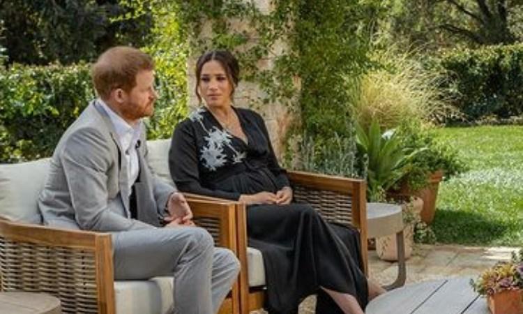 Harry e Meghan Oprah