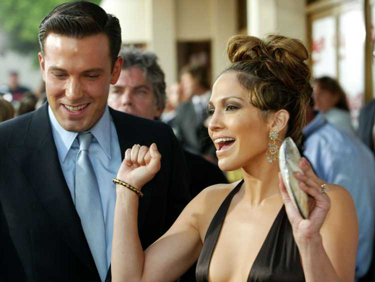Jennifer Lopez e Ben Affleck nel 2003