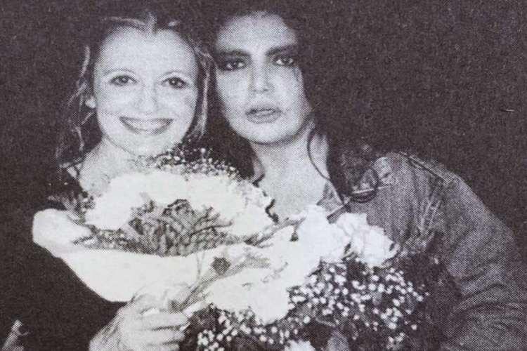 Loredana Bertè e Carla Fracci