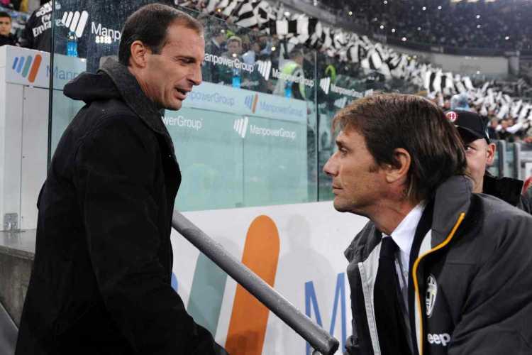 Massimiliano Allegri e Antonio Conte