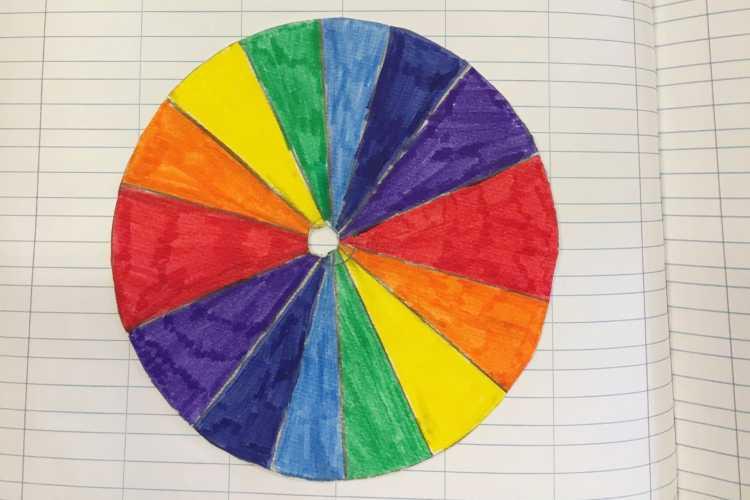 Test colori disegno