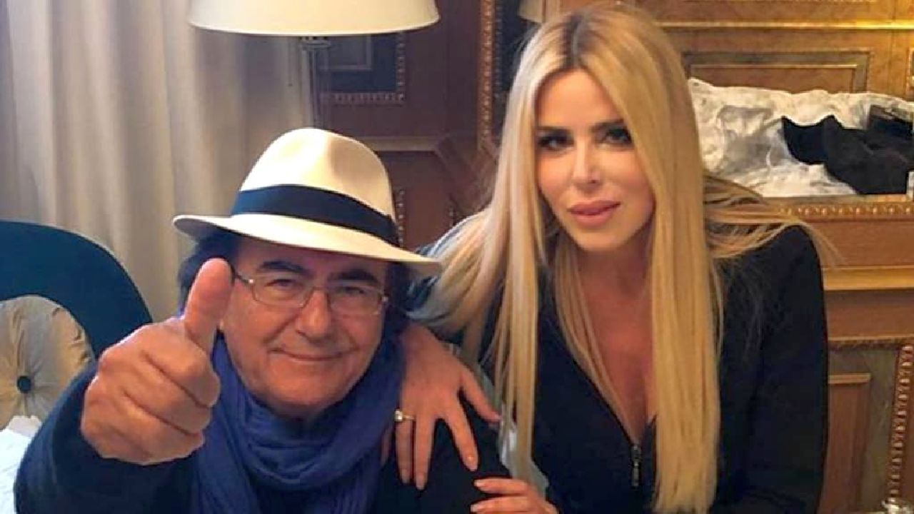 Albano abbracciato a Loredana Lecciso: Romina Power risponde con una provocazione