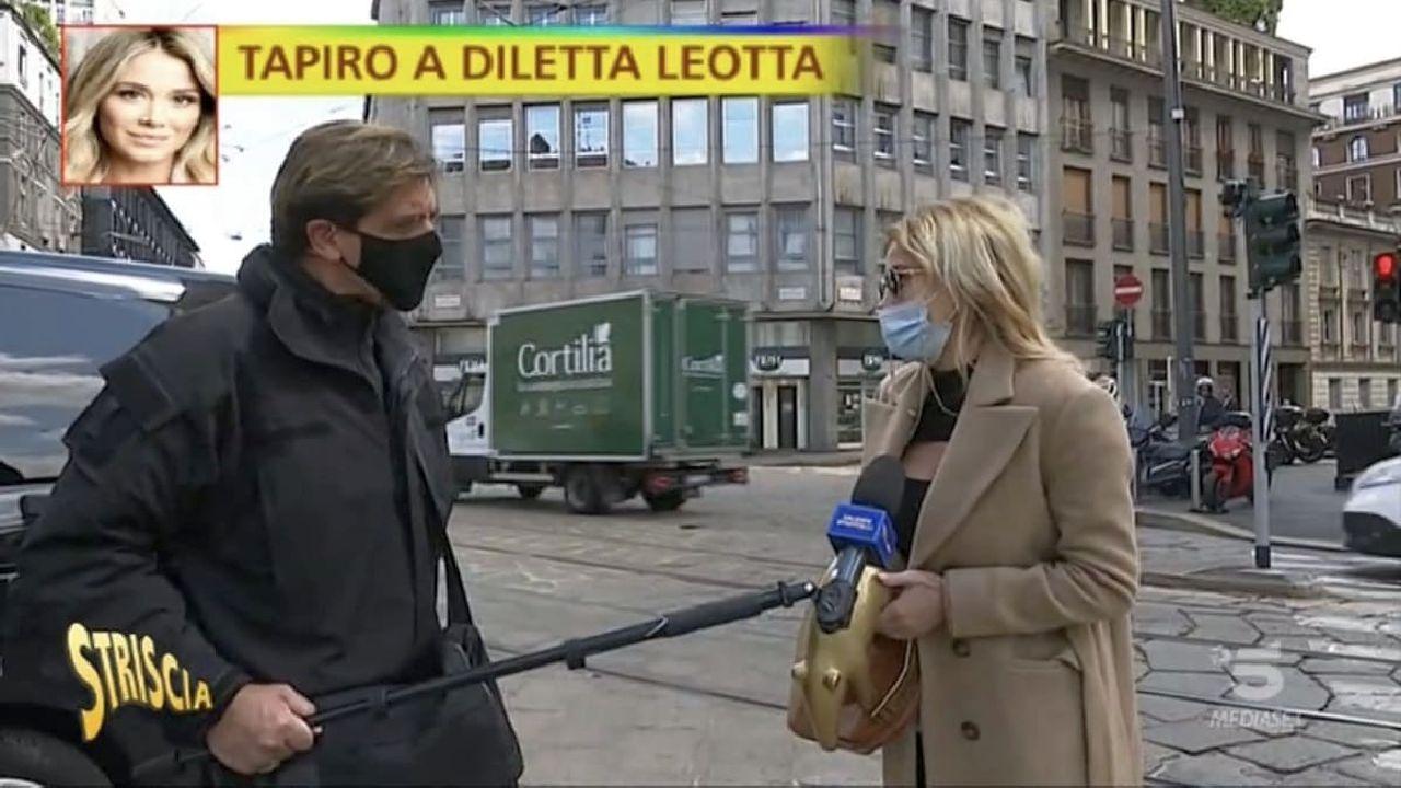 Diletta Leotta si becca il Tapiro di Striscia, ma la sua risposta sorprende tutti