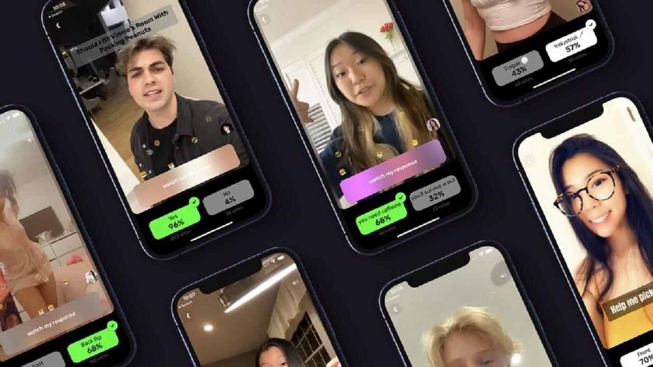 Le schermate dell'app