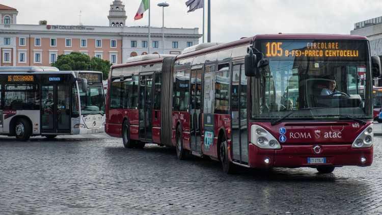 Test: autobus Roma