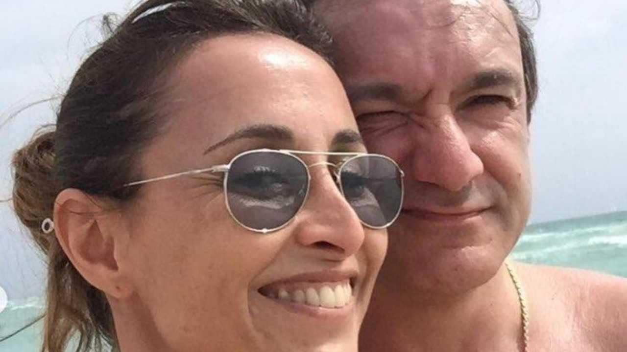 Benedetta Parodi e Fabio Caressa