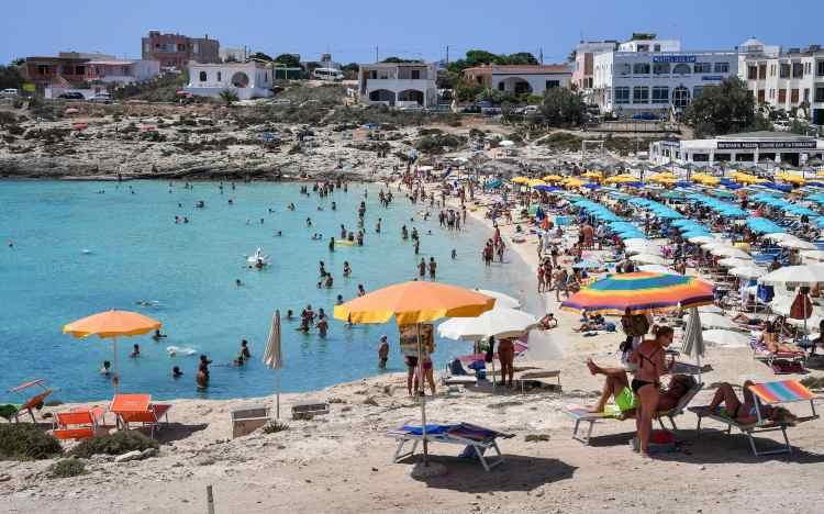 Spiaggia italiana