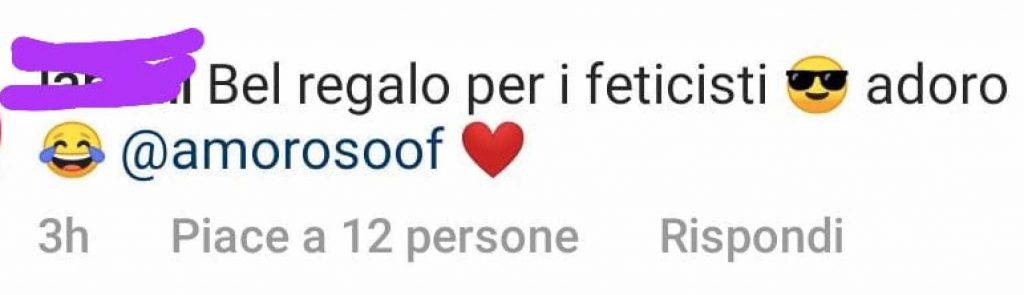 commento instagram alessandra amoroso