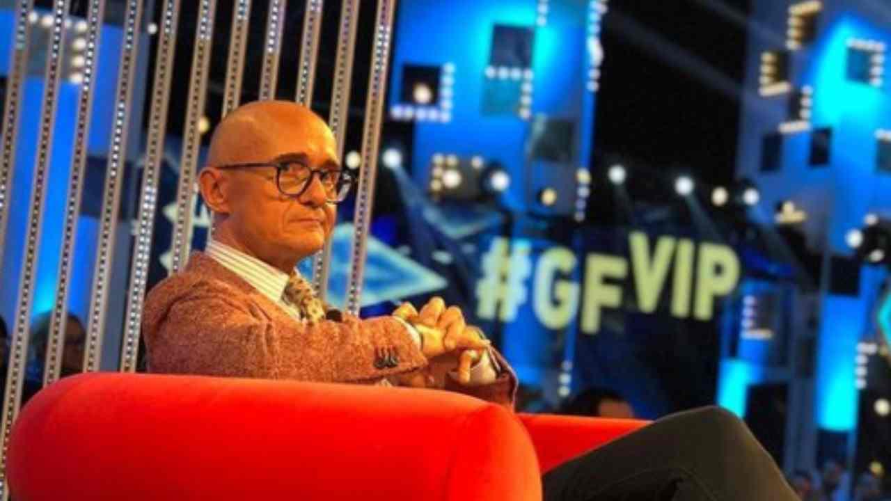 Alfonso Signorini al GF Vip