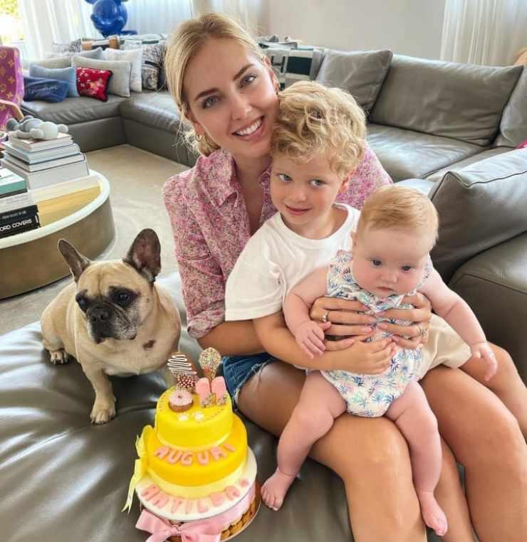 Chiara e la sua famiglia