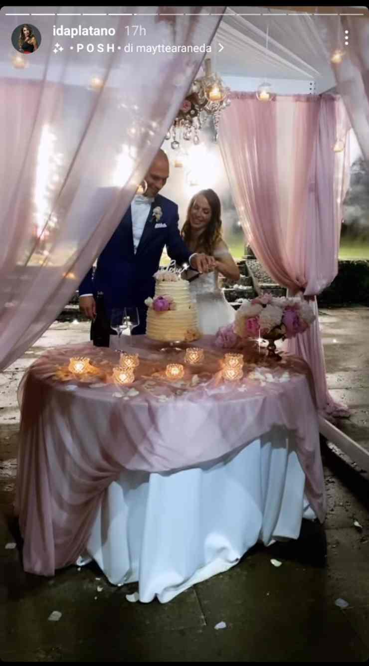 Mauro e Lisa di uomini e donne finalmente sposi