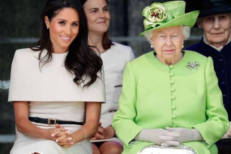Meghan Markle e la Regina Elisabetta (Getty Images)