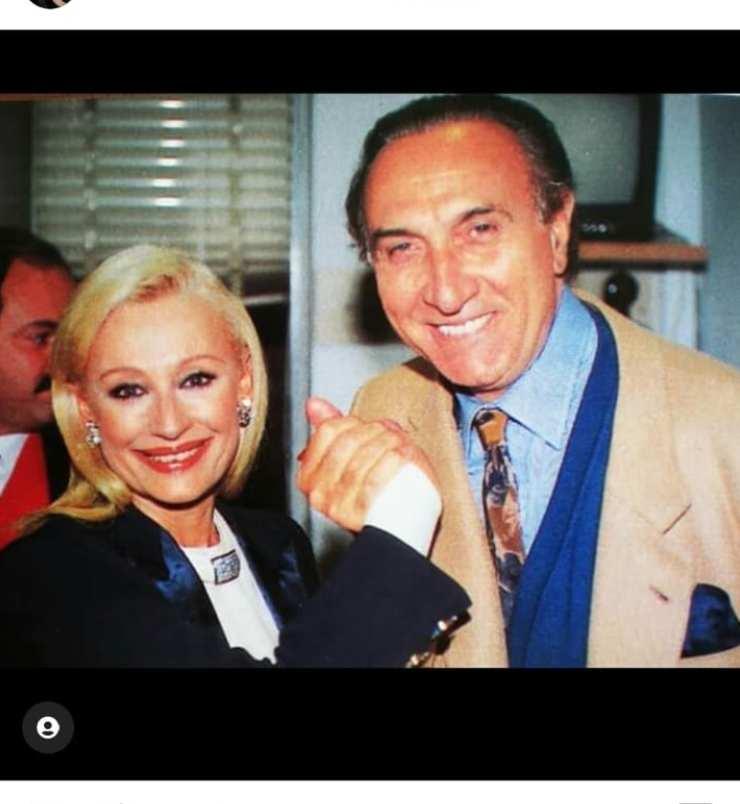 Pippo Baudo e Raffaella Carrà, mostri sacri panorama televisivo italiano
