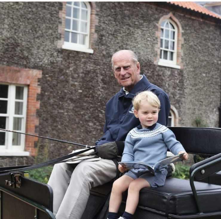 Principe George e Filippo
