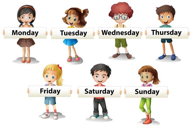 Test giorni della settimana